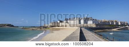 Panoramic View Of Saint Malo