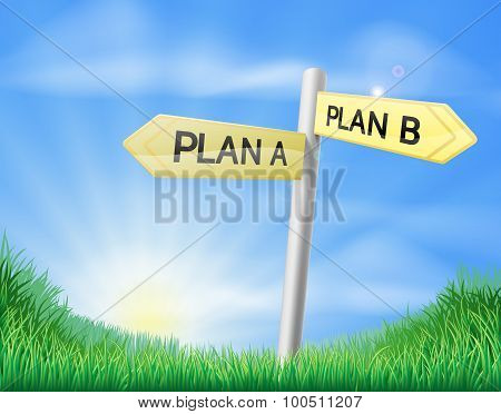 Plan A Plan B Sign In Field