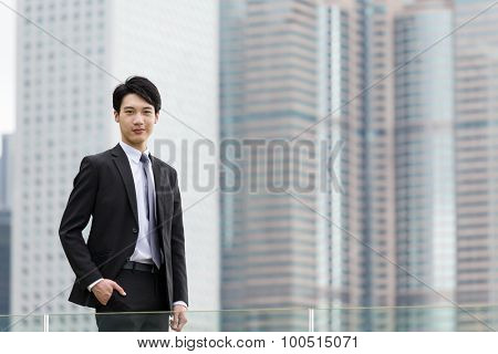Confidence businessman