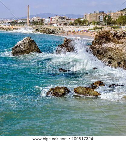 Angry Sea,