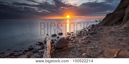 Rocky Baltic Sea Shore