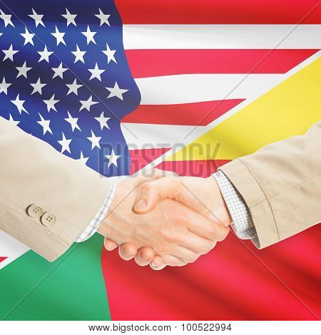 Businessmen Handshake - United States And Benin