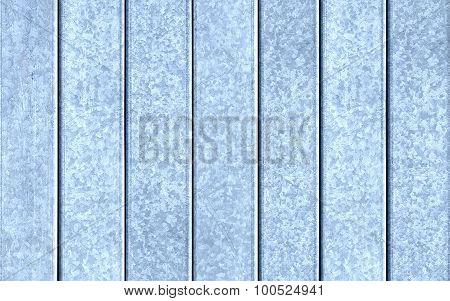 Set Of Light Grey Metal Plates