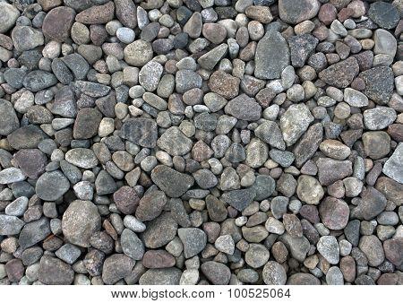 Gray Stones Texture.