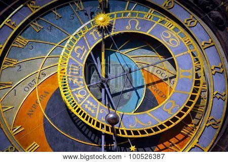 Astronomical Clock in the Old Town of Prague