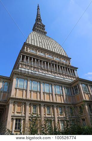 Historical Building In The City Of Turin Called Mole Antonelliana