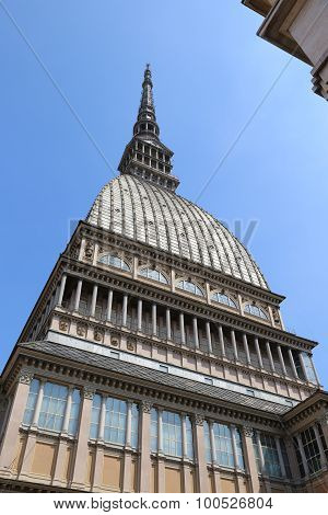 Highest Historical Building In Turin Called Mole Antonelliana