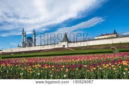 Kazan Kremlin And Kul-sharif Mosque, Tatarstan, Russia