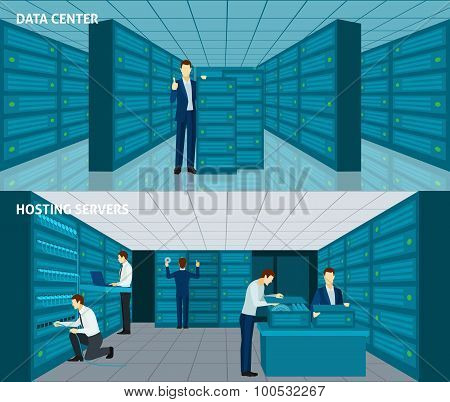 Datacenter Banner Set