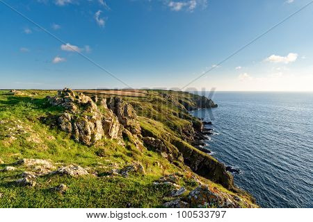 Clifftops Above Mullion Cove