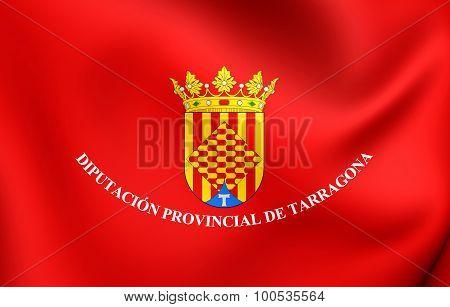 Flag Of Tarragona Province, Spain.