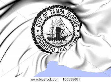 Seal Of Tampa City (florida), Usa.