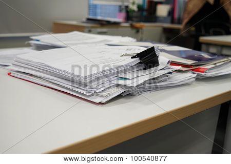 Paper On Desk