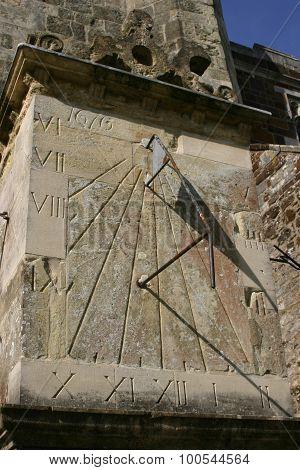 Wimborne Minster Church sundial