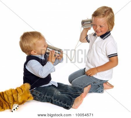 Brothers On The Phone
