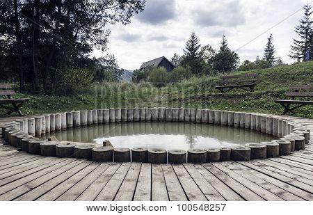 Rural Wooden Bath