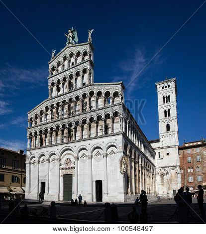 Church Of San Michele In Foro In Lucca