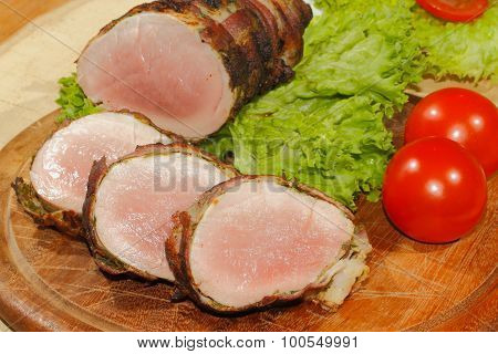 Pork Tenderloin, Pork Medallions, Grilled, Pork, Meat, Bacon