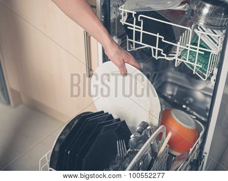 Hand Loading Dish Washer