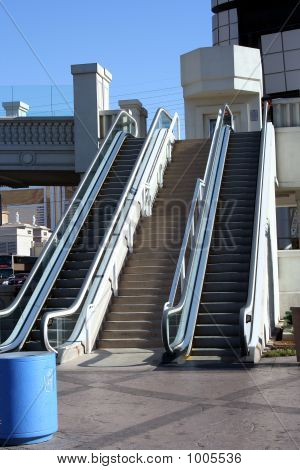 Outside Escalators