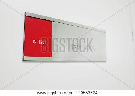 door-plate