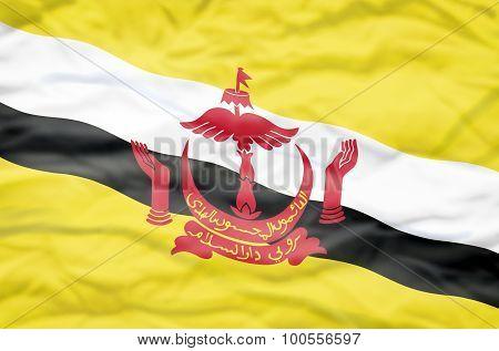 Brunei flag.