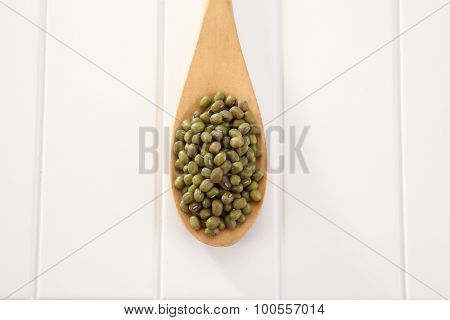 Close up of the Mung beans