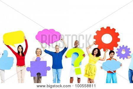 Diversity Ethnic Ethnicity Unity Togetherness Concept