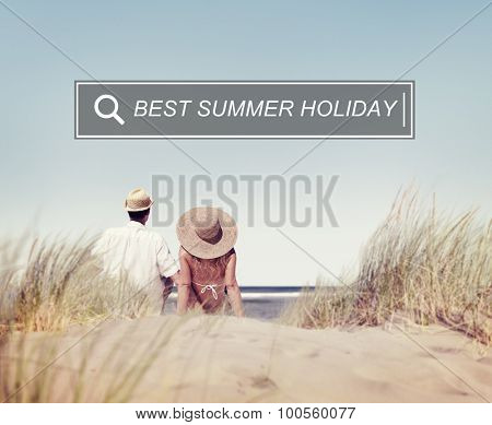 Best Summer Holiday Enjoyment Freedom Concept