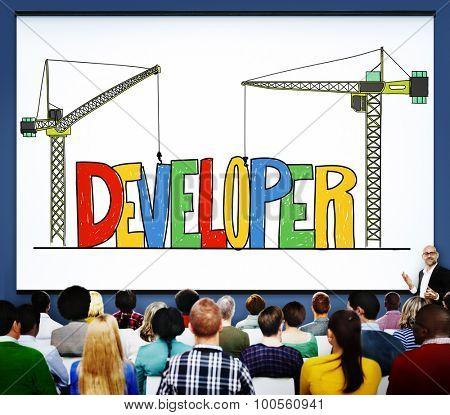 Developer Development Improve Skill Management Concept