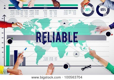 Reliable Integrity Respectable Trustworthy Trust Concept