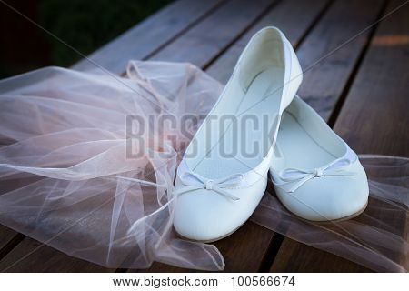 Wedding Still Life - Bride's Shoes