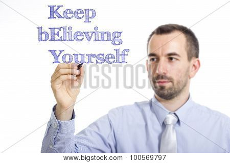 Keep Believing Yourself Key