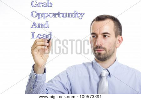 Grab Opportunity And Lead Goal