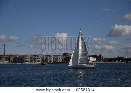 Sailing boat Aalborg