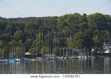 Essen (germany) - Lake Baldeney (baldeneysee)