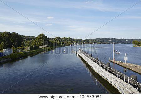 Essen (germany) - Dam Of The Lake Baldeney (baldeneysee)