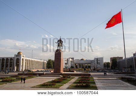 Ala-Too Square in Bishkek