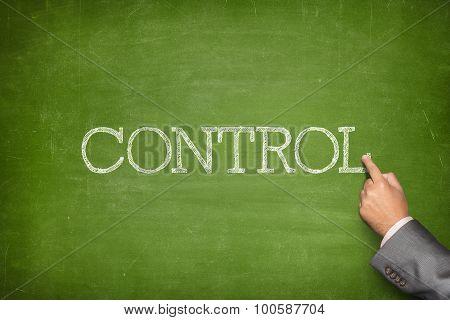 Control text on blackboard
