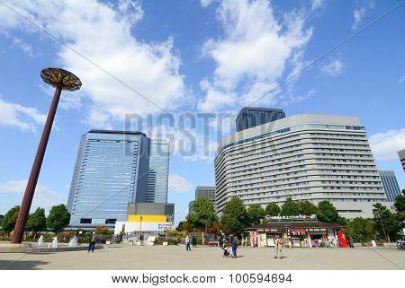 Modern Buildings In Osaka