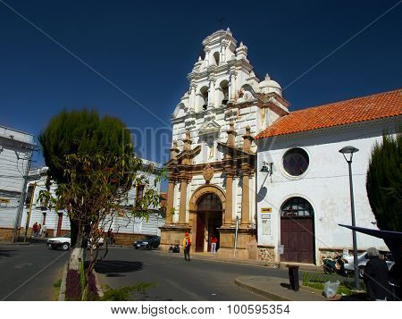 Hospital and Church of Saint Barbara in Sucre