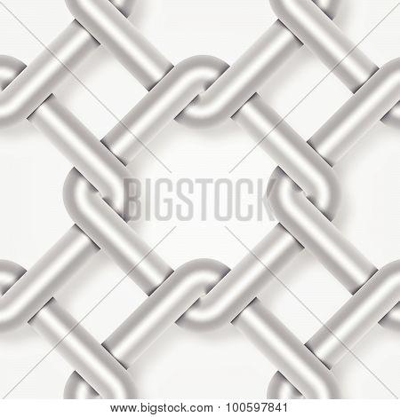 Steel Wire Weave, Background Vector