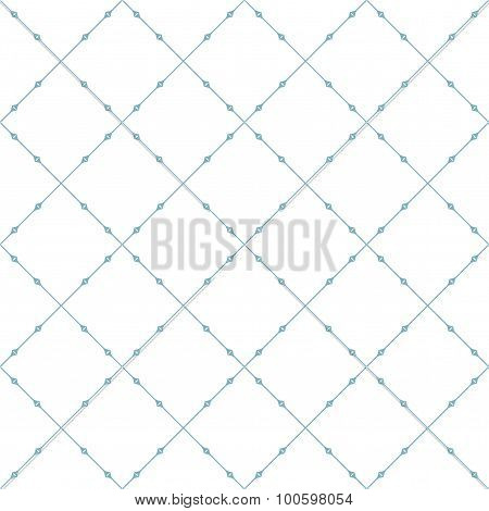 Seamless Patterns With Abstract Decorative Ornament.
