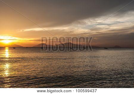 The beach near Hoi An