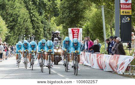 Team Astana - Team Time Trial 2015