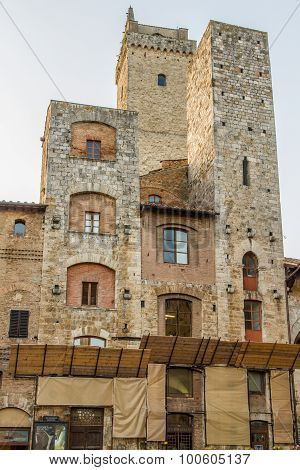 San Gimignano Ancient Towers-san Gimignano, Italy