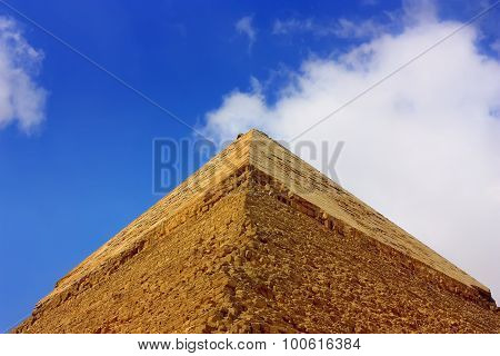 Top Of The Pyramid Of Cheops