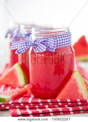 Glasses of fresh,home-made  fresh juice