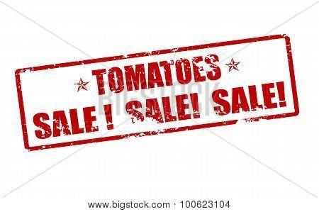 Tomatoes Sale
