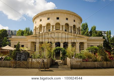 Rotunde de la Villette in Paris